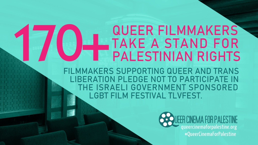 170 queer filmmakers support the Palestinian call to boycott TLVFest